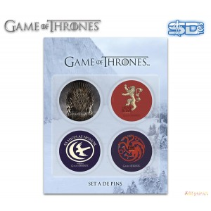Game of Thrones pack 4 badges (set -A)