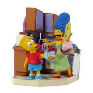 Simpsons ´Bust-Ups´ série 2 BART & MARGE