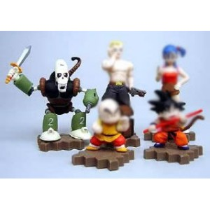 Dragon Ball mini figure du Fantome du Robot Pirate