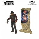 Movie Maniacs Series 4 A Nightmare on Elm Street 1985 - figurine FREDDY KRUEGERT