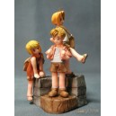 Fullmetal Alchemist Trading Arts Vol.2 Collector - figurine Edward Elric, Alphonse Elric, Winry Rockbell (enfant)