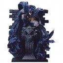 Batman On Gargoyle Wall Statue By Kotobukiya