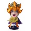 Saint Seiya mini big head (deformed) figure - chevaliers d'or Lion Ayor