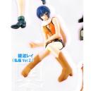 Evangelion HG series 4 Yoshiyuki Sadamoto - gashapon Rei (en tenue orange)