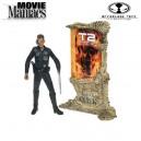 Movie Maniacs Series 4 Terminator 2 : Judgement Day 1991 - figurine T-1000