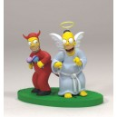 Simpsons série 2 - figurine GOOD/EVIL HOMER
