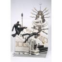 Matrix série 1 diorama Neo Scène du Château
